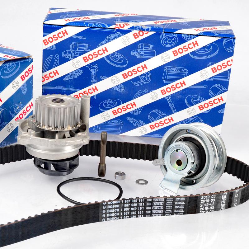 BOSCH Wasserpumpe 1987946438 für AUDI VW 1.6 BOSCH Zahnriemensatz Satz Kit